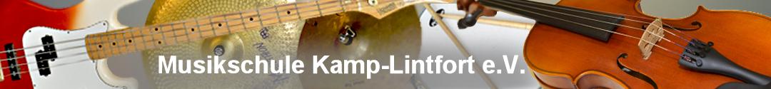 25 Jahre Musikschule Kamp-Lintfort e.V. Logo